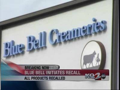 News video: Blue Bell Initiates Nationwide Recall